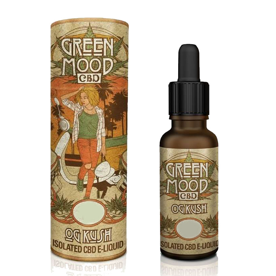 Liquid CBD Green Mood OG Kush 300mg/10ml