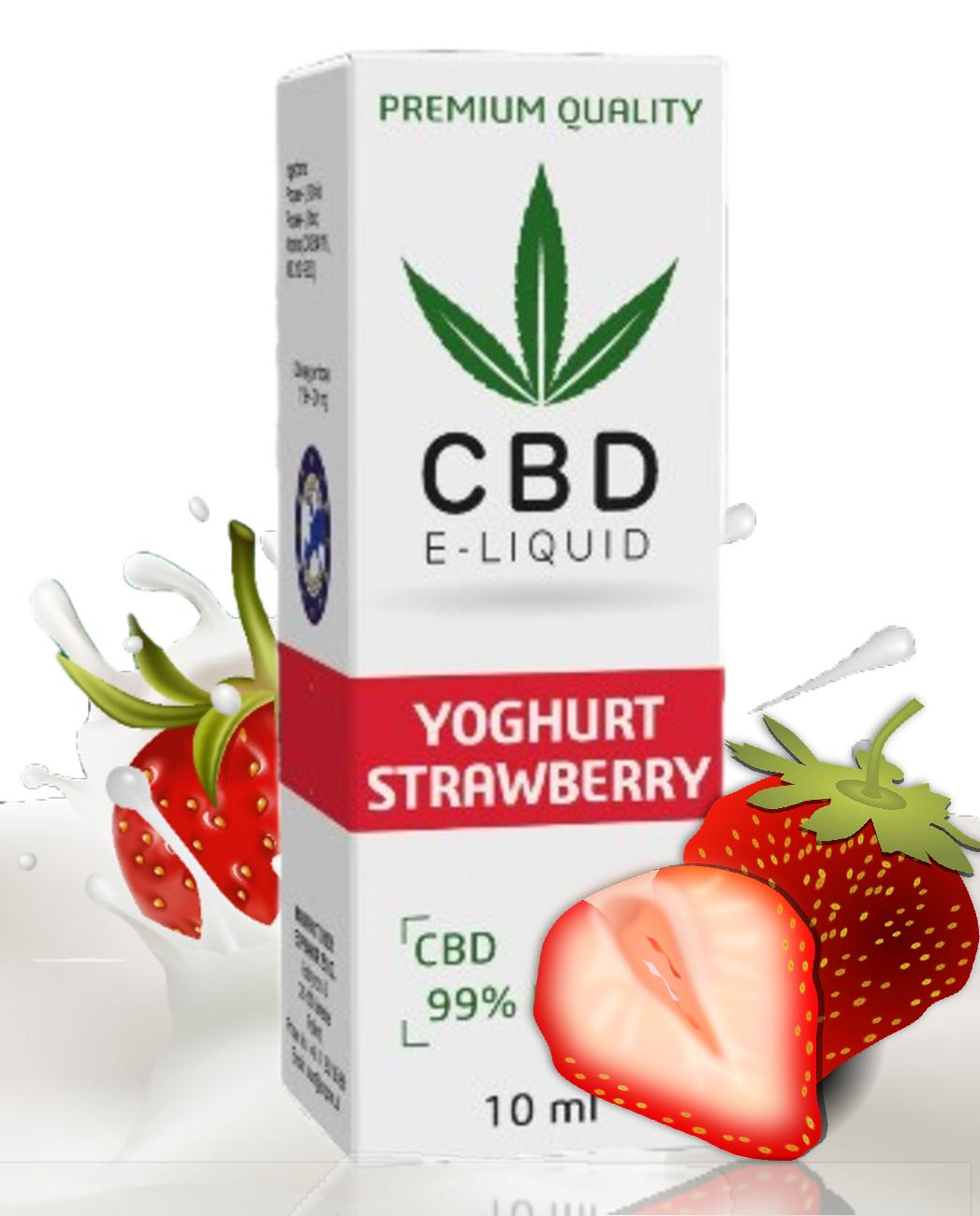 Liquid CBD Expran Strawberry Yoghurt 600mg/10ml