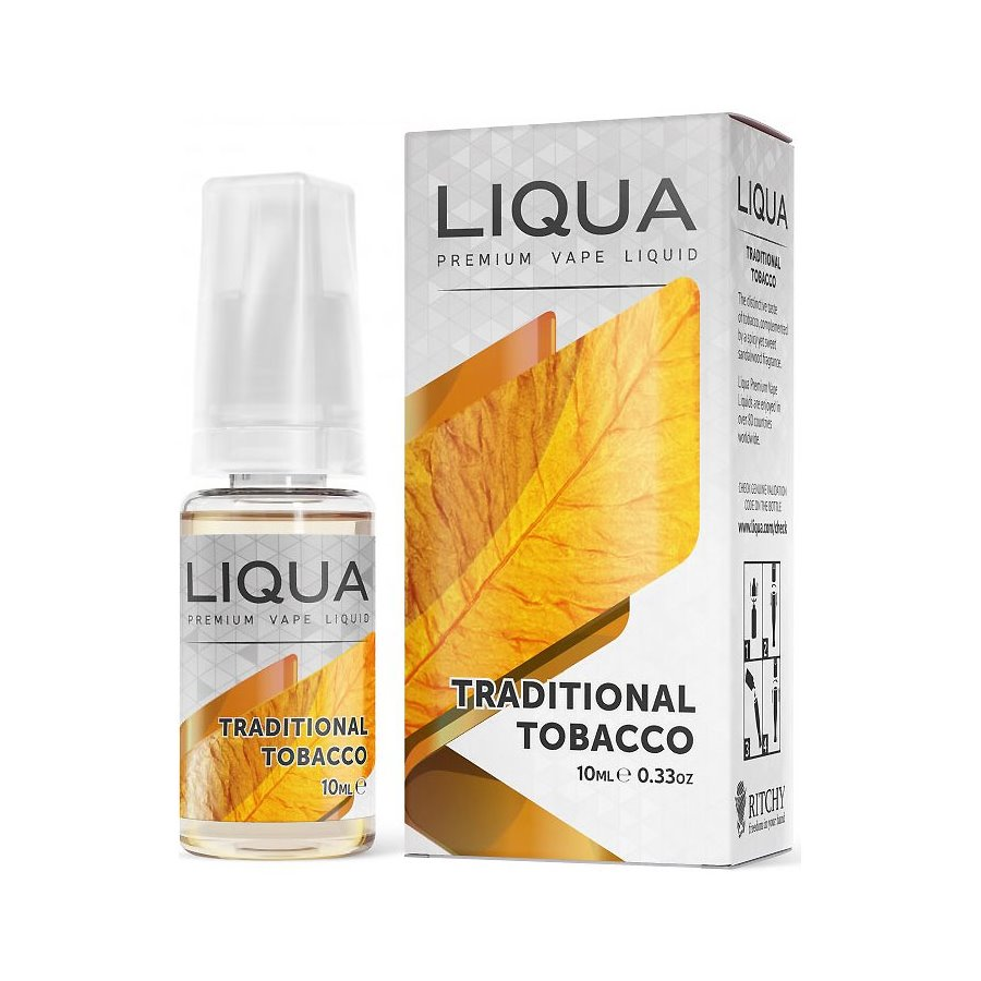 E-liquid Liqua TRADITIONAL TABACCO 10ml