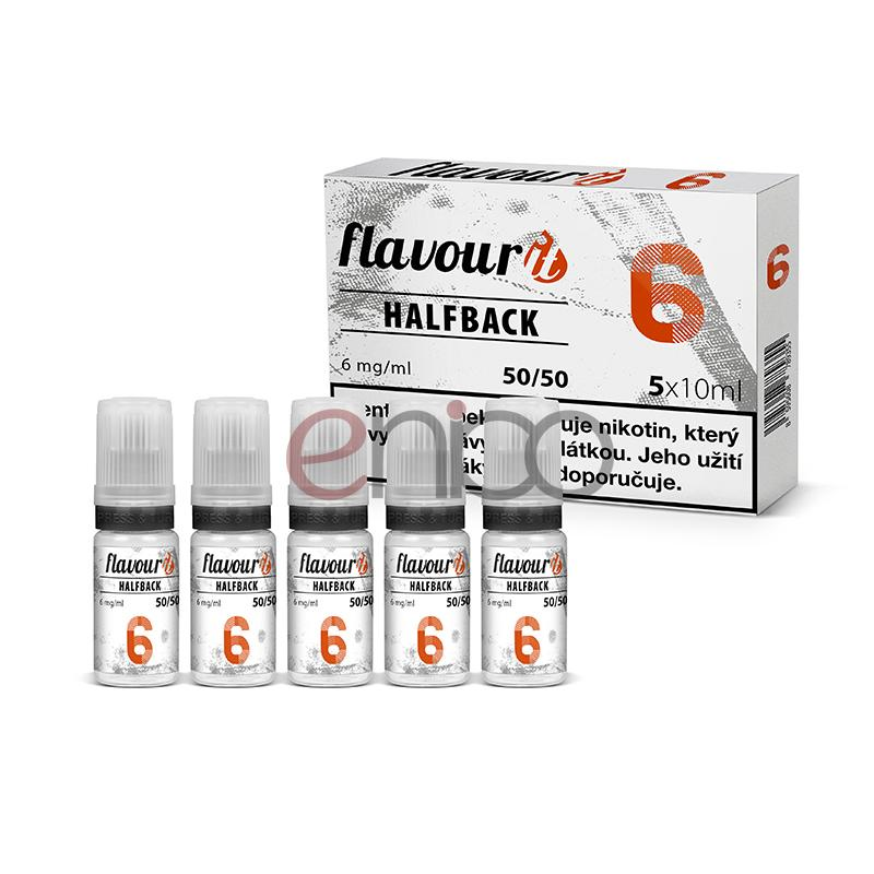 Booster Flavourit HALFBACK 50/50 - 10ml / 6mg 5ks