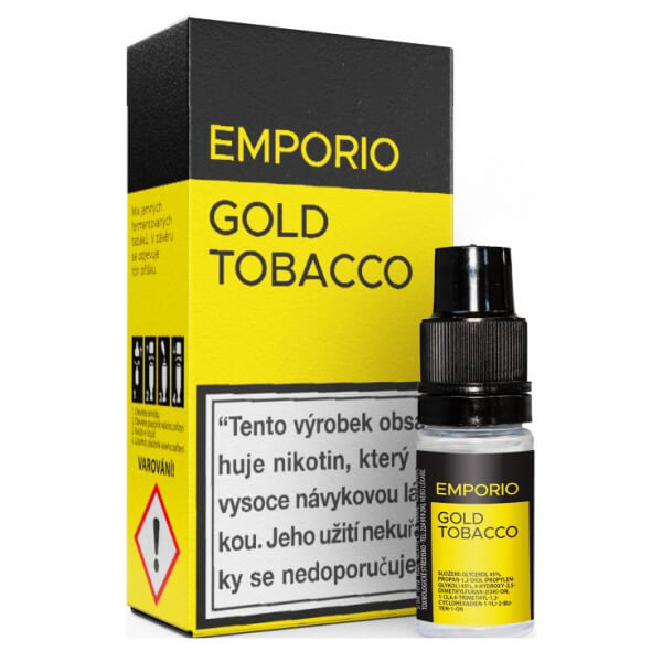 EMPORIO - Gold Tobacco 10ml