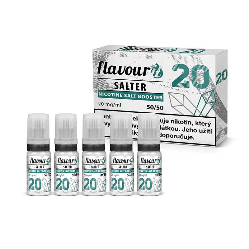 Booster Flavourit SALTER - 50/50 - 10ml / 20mg 5ks