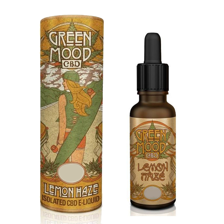 Liquid CBD Green Mood Super Lemon Haze 100mg/10ml